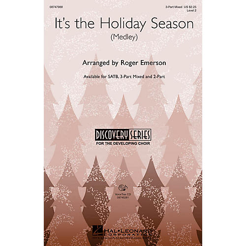 Hal Leonard It's the Holiday Season VoiceTrax CD Arranged by Roger Emerson thumbnail