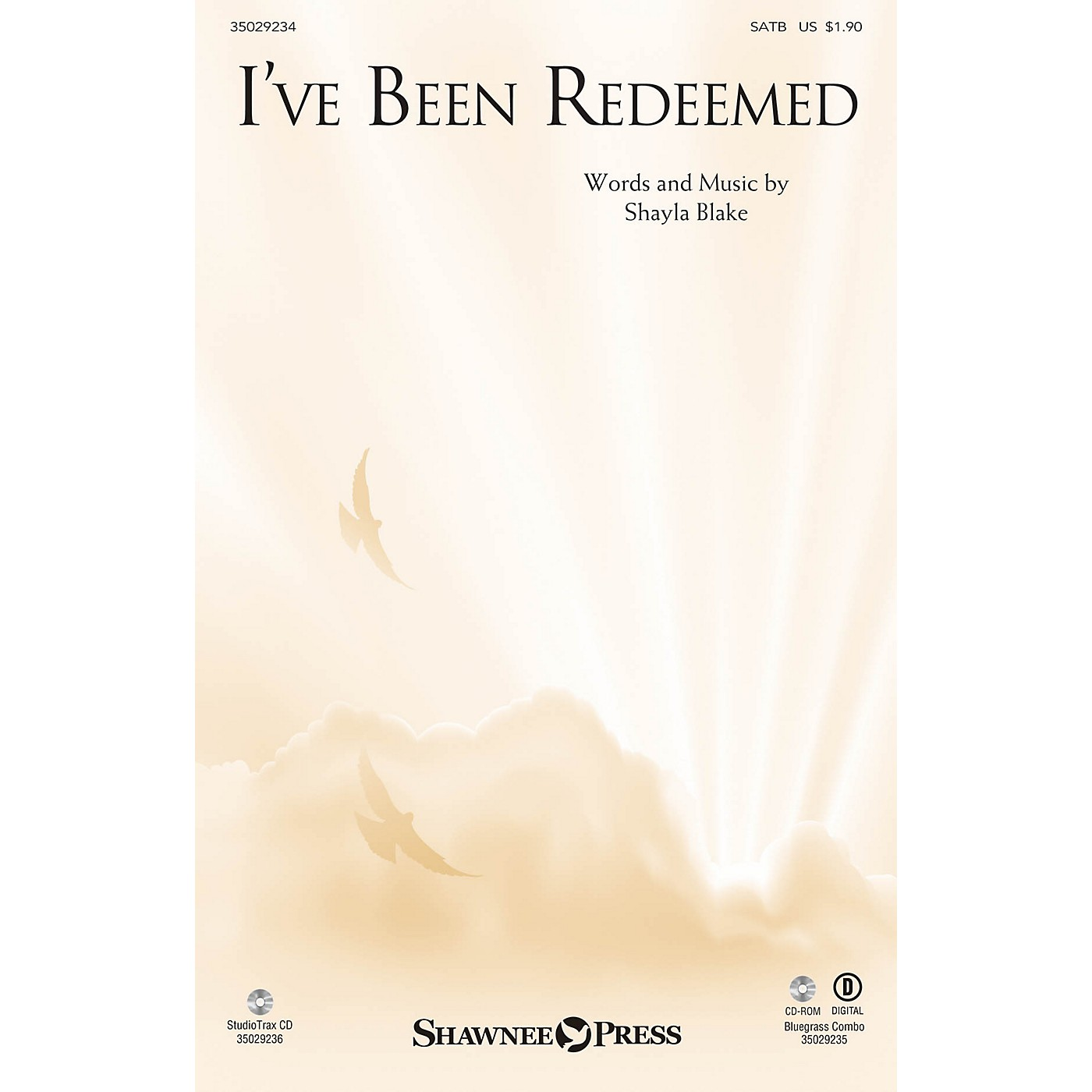 Shawnee Press I've Been Redeemed SATB composed by Shayla Blake thumbnail