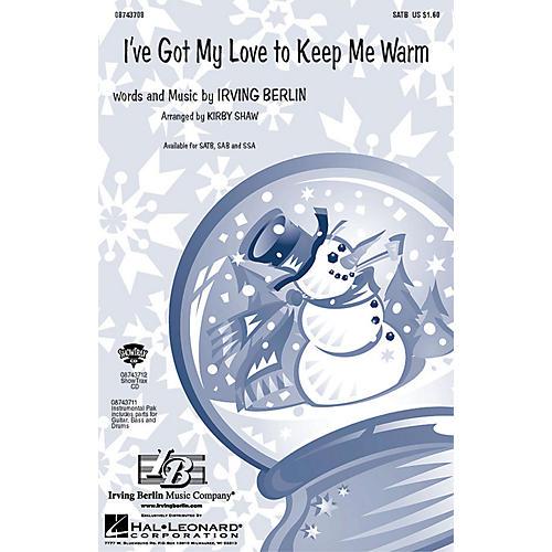 Hal Leonard I've Got My Love to Keep Me Warm SSA Arranged by Kirby Shaw thumbnail