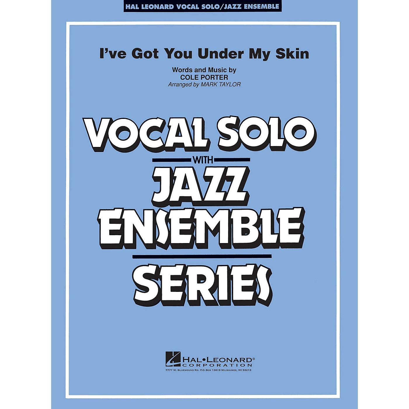 Hal Leonard I've Got You Under My Skin (Key: C) Jazz Band Level 3-4 Composed by Cole Porter thumbnail
