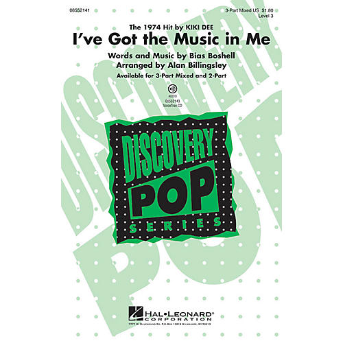 Hal Leonard I've Got the Music in Me (Discovery Level 3) VoiceTrax CD by Kiki Dee Arranged by Alan Billingsley thumbnail