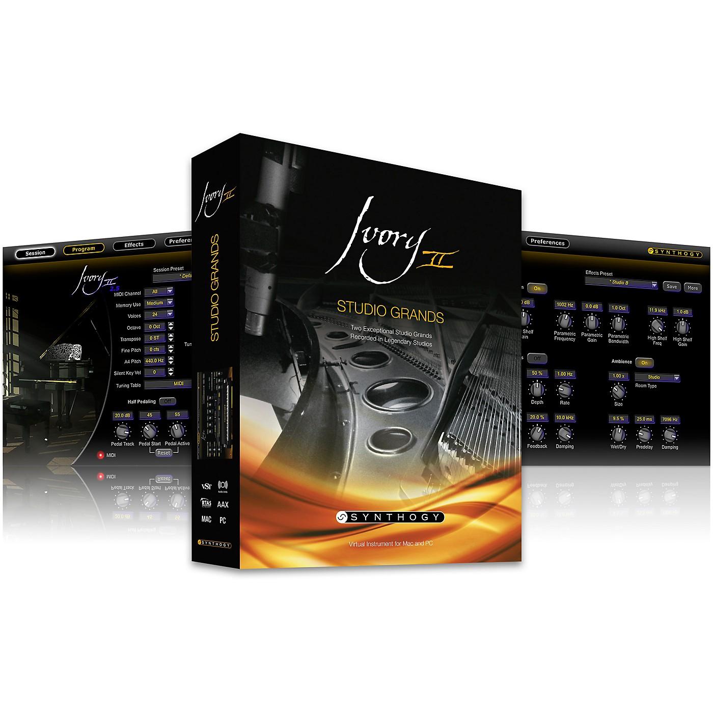 Synthogy Ivory II - Studio Grands thumbnail