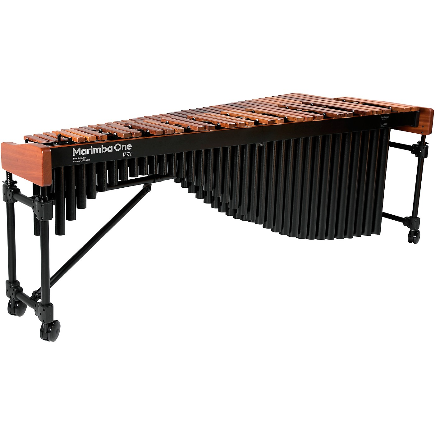 Marimba One Izzy #9504 A442 Marimba with Traditional Keyboard and Basso Bravo Resonators thumbnail
