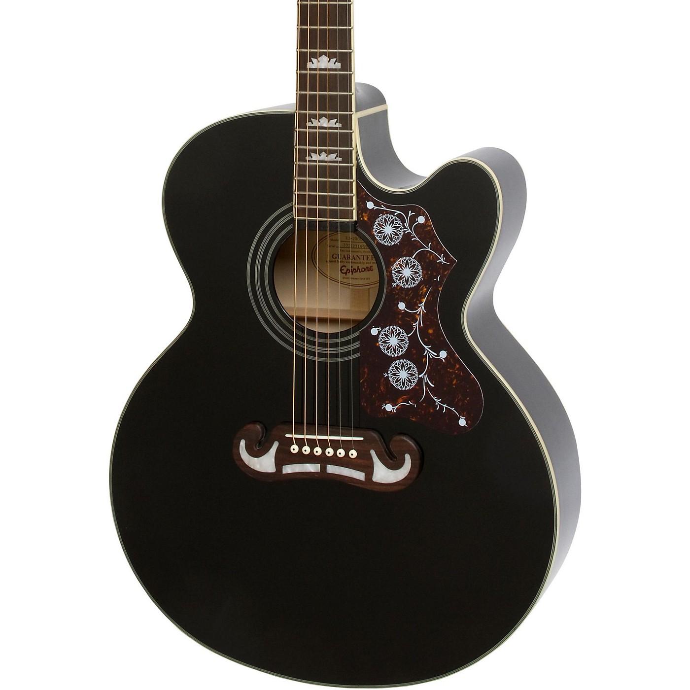 Epiphone J-200 EC Studio Acoustic-Electric Guitar thumbnail