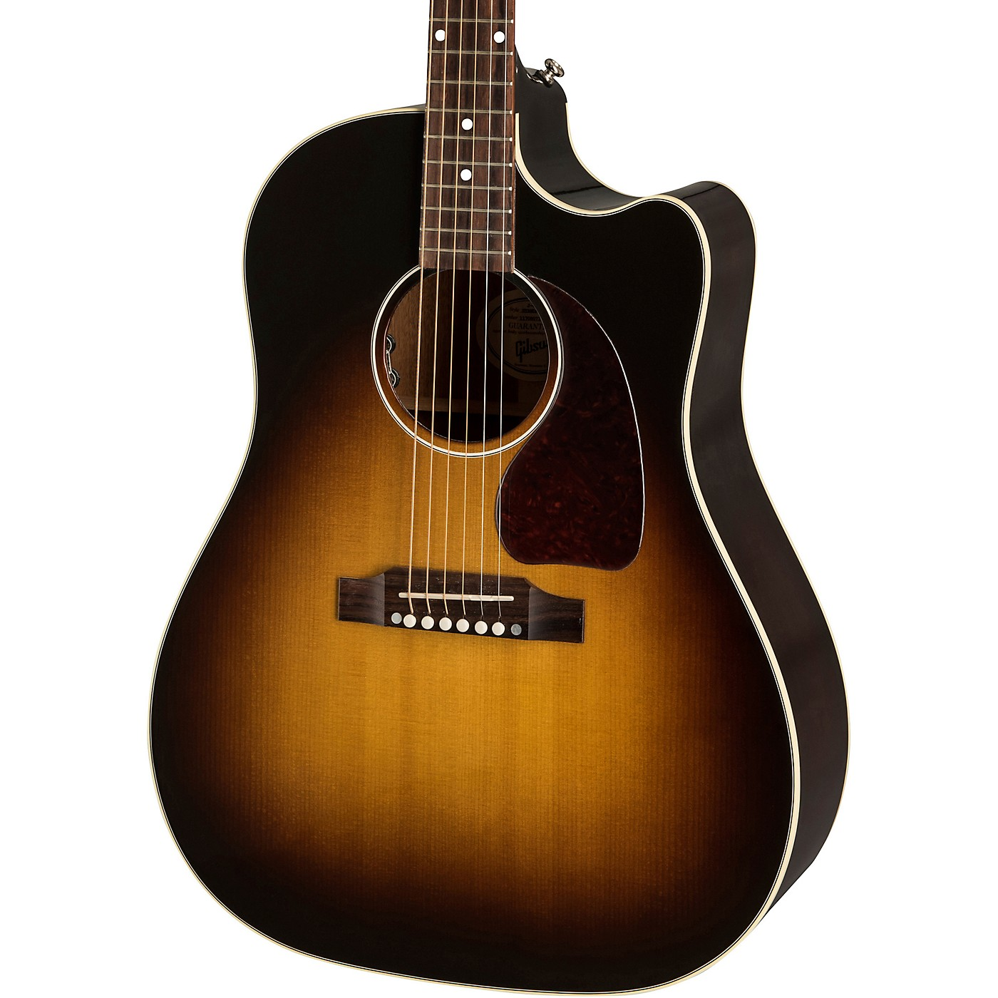 Gibson J-45 Cutaway Acoustic-Electric Guitar thumbnail