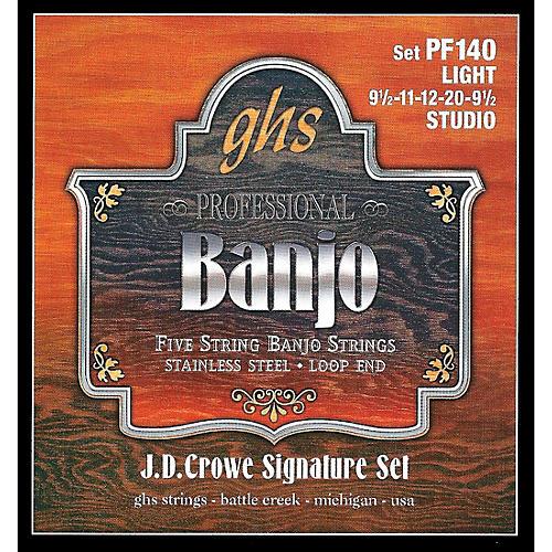 GHS J. D. Crowe Studio Signature 5-String Banjo Strings Light thumbnail