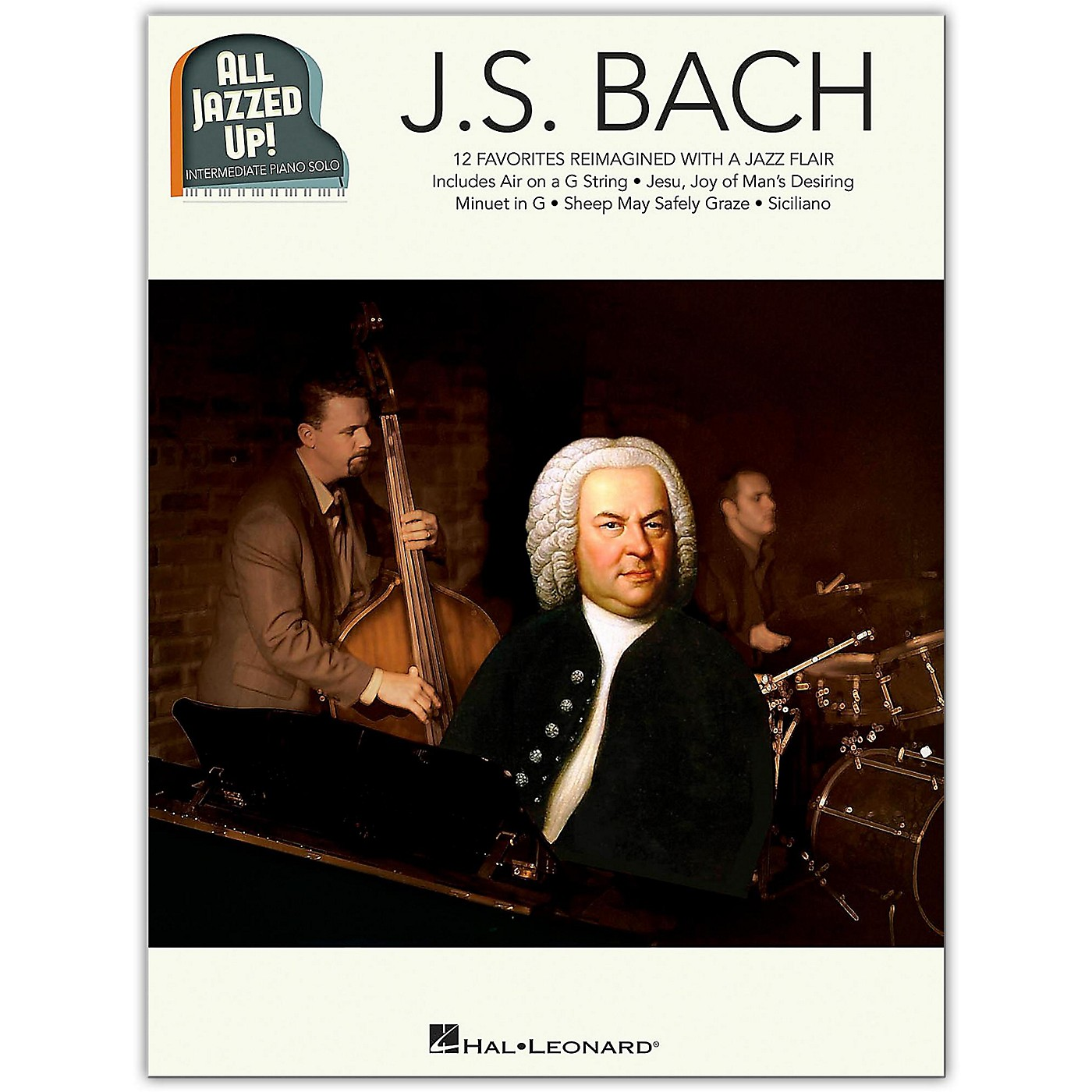 Hal Leonard J.S. Bach - All Jazzed Up!  Intermediate Piano Solo Songbook thumbnail