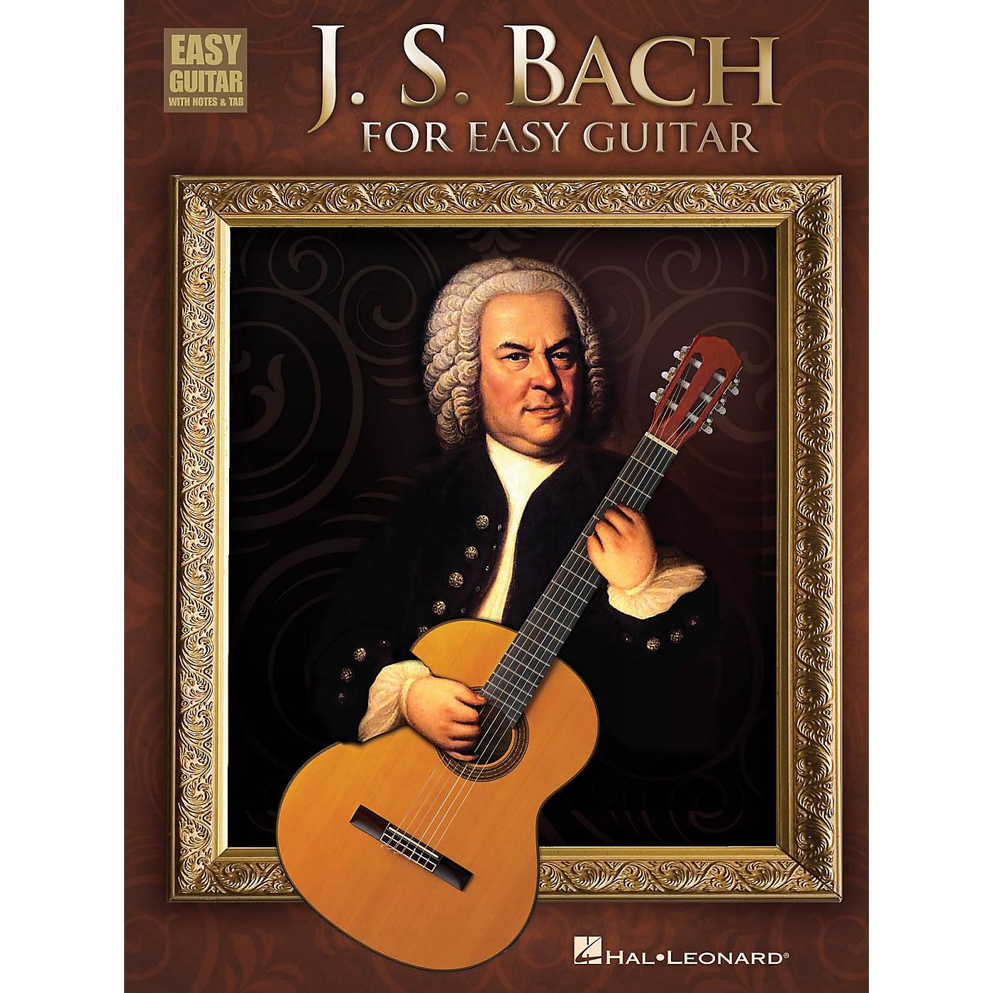 Hal Leonard J.S. Bach For Easy Guitar With Tab thumbnail
