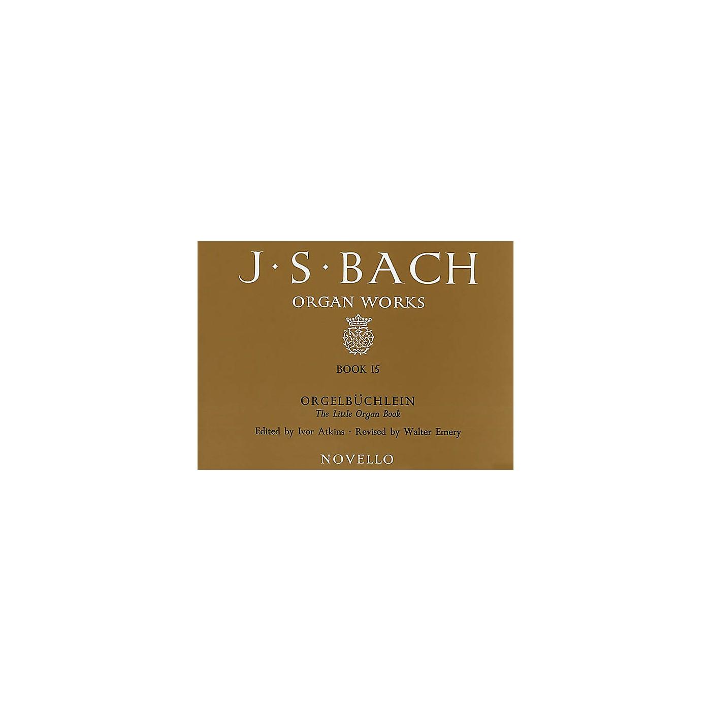 Music Sales J.S. Bach: Organ Works Book 15: Orgelbuchlein Music Sales America Series thumbnail