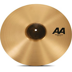 Sabian AA Raw Bell Crash Cymbal 18 in.