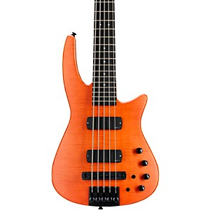 NS Design CR5 RADIUS Bass Guitar Satin Amber