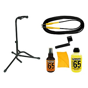 Musician's Gear Guitar Add-On Accessories Pack Black