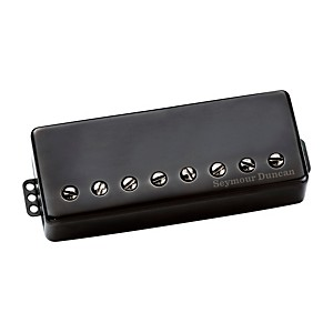 Seymour Duncan Distortion 8-String Passive Guitar Pickup Black Metal Neck