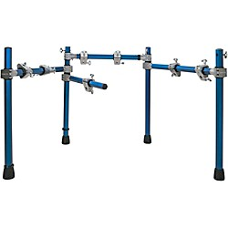 simmons sd550. simmons electronic drum rack blue metallic sd550
