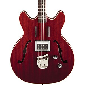 Guild Starfire Electric Bass Cherry Red