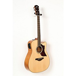 Yamaha A1FMHC A-Series Flame Maple Dreadnought Acoustic-Electric Guitar with SRT Pickup Regular 888365479880
