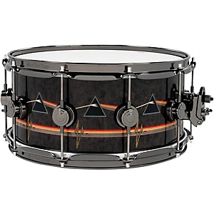 DW Collector's Series Pink Floyd Icon Snare 14x6.5 Black Nickel Hardware