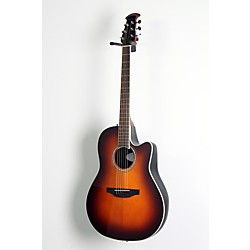 Ovation Celebrity Standard Mid-Depth Cutaway Acoustic-Electric Guitar Sunburst 1 -  USED005015 CS24-1