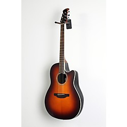 Ovation Celebrity Standard Mid-Depth Cutaway Acoustic-Electric Guitar Sunburst 1 -  USED005016 CS24-1