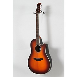 Ovation Celebrity Standard Mid-Depth Cutaway Acoustic-Electric Guitar Sunburst 8 -  USED005022 CS24-1