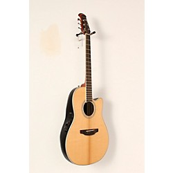 Ovation Celebrity Standard Mid-Depth Cutaway Acoustic-Electric Guitar Natural 19 -  USED006033 CS24-4