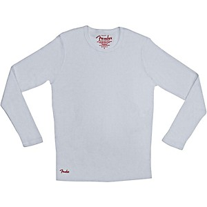 Fender Long Sleeve Thermal White Extra-Large