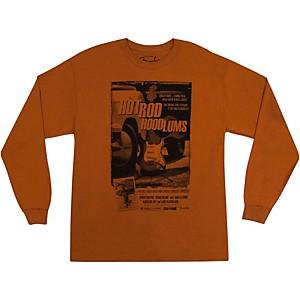 Fender Hot Rod Hoodlums Long Sleeve T-Shirt Orange Medium