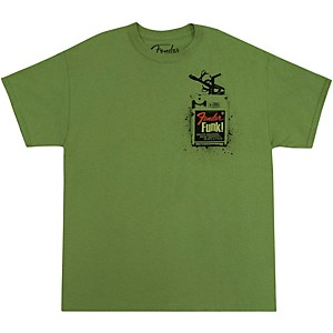 Fender Funk! T-Shirt Lime Green Large
