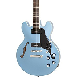 Epiphone ES-339 P90 PRO Semi-Hollowbody Electric Guitar Pelham Blue 190839616623 -  J07390M.002.237