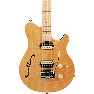 Ernie Ball Music Man Axis Super Sport Hollowbody Electric Guitar with Tremolo Natural