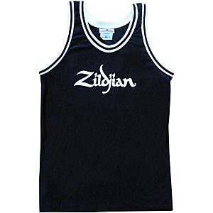 Zildjian Basketball Jersey Black X Large