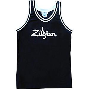 Zildjian Basketball Jersey Black XXX Large