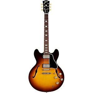 Gibson 1963 ES-335TD Semi-Hollow Electric Guitar Light Caramel Burst