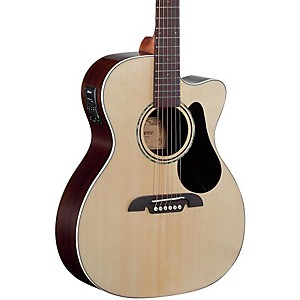 Alvarez RF27CE OM/Folk Acoustic-Electric Guitar Natural