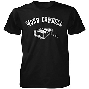 Taboo More Cowbell T-Shirt Black X-Large