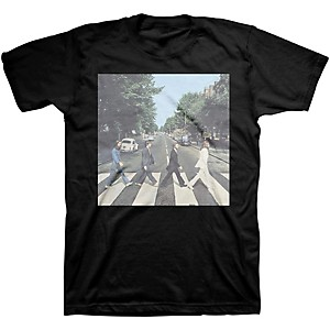 Beatles Beatles Abbey Road Mens T-Shirt Black XX-Large