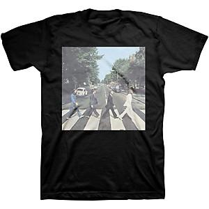 Beatles Beatles Abbey Road Mens T-Shirt Black Small