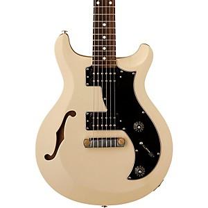 PRS S2 Mira Semi-Hollow Electric Guitar Antique White