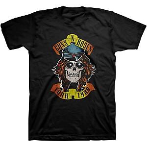 Guns N' Roses Guns N' Roses Appetite Tour 1988 T-Shirt Black X-Large