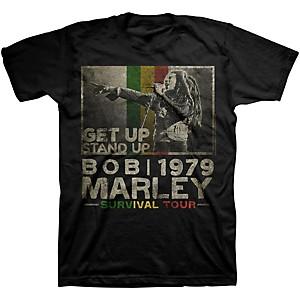 Bob Marley Bob Marley Get Up T-Shirt Black Small