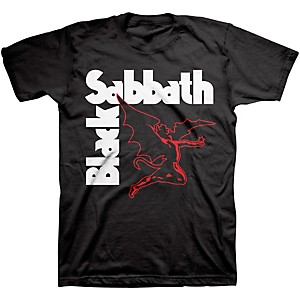 Black Sabbath Black Sabbath Creature T-Shirt Black Medium
