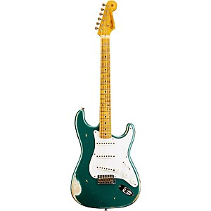 Fender Custom Shop 1954 Heavy Relic Stratocaster Electric Guitar Sherwood Green Metallic