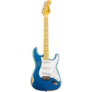Fender Custom Shop 1954 Heavy Relic Stratocaster Electric Guitar Lake Placid Blue