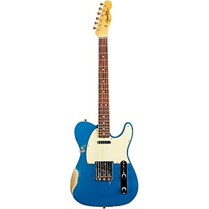 Fender Custom Shop L-Series 1964 Telecaster Heavy Relic Electric Guitar Lake Placid Blue