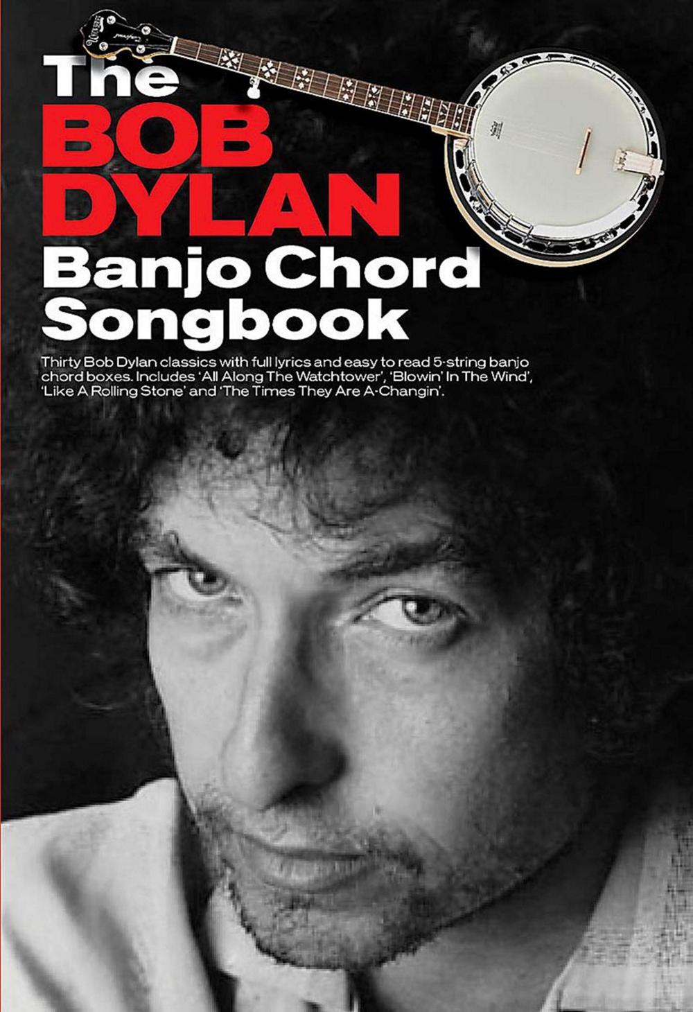 The bob dylan banjo chord songbook 1783054360 ebay the bob dylan banjo chord songbook hexwebz Images