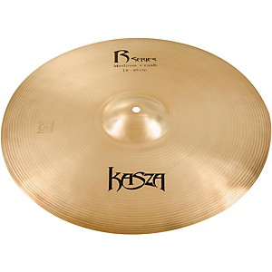 Kasza Cymbals Medium Rock Crash Cymbal 18 inch
