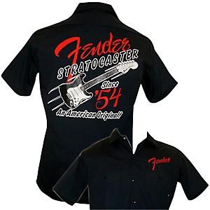 Fender 1954 Strat Work Shirt Navy Medium