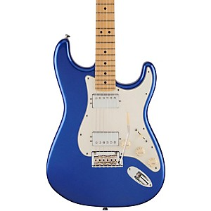 Fender American Standard Maple Fingerboard HH Stratocaster Electric Guitar Ocean Blue Metallic