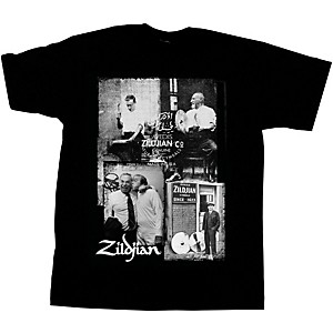 Zildjian Photo Real T-Shirt Black Medium
