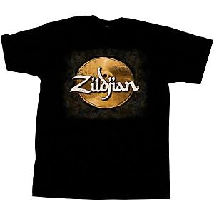 Zildjian Hand-Drawn Cymbal T-Shirt Black Large